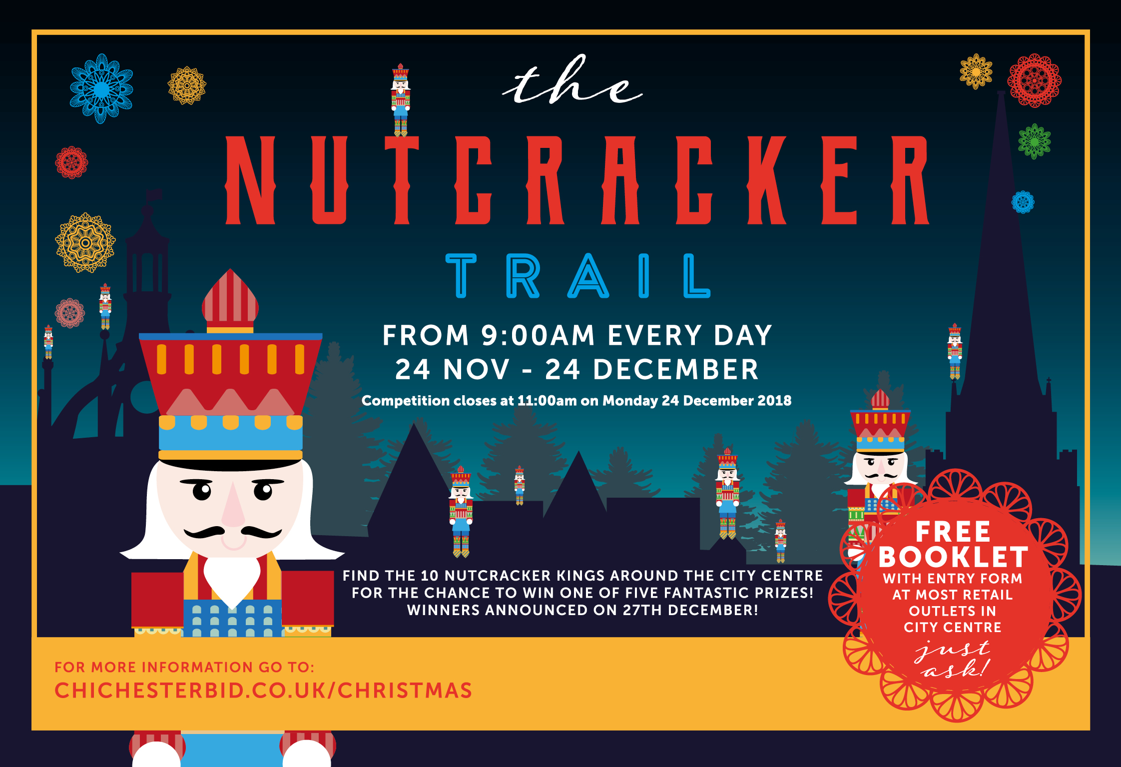 Join in the Chichester Nutcracker Trail!